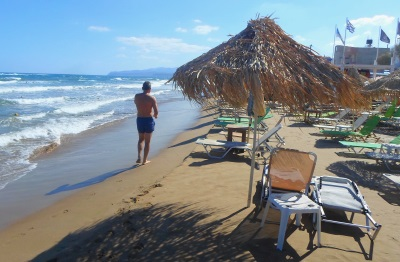 Kreta Karte Stalis.Stalida Stalis Auf Kreta Informationen über Tavernen Strand Und